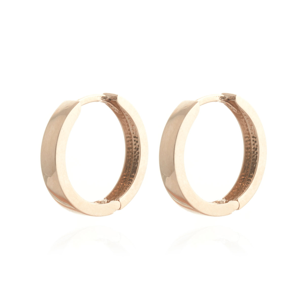 Diamond Earrings in 9ct Rose Gold