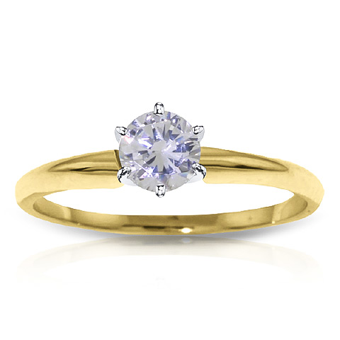 Diamond Solitaire Ring 0.35 ct in 18ct Gold