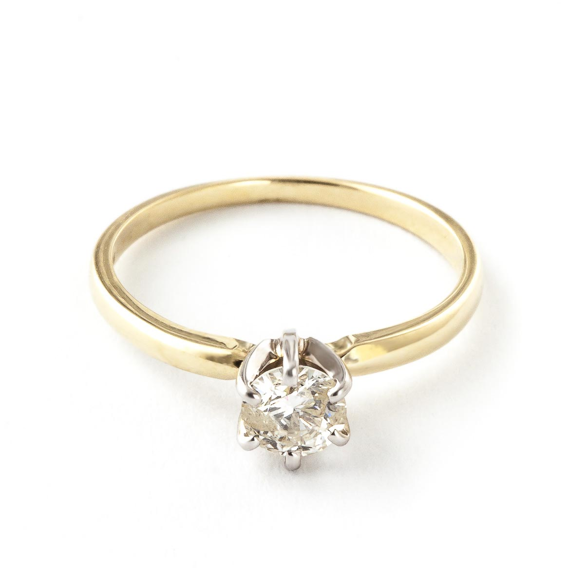 Diamond Solitaire Ring 0.4 ct in 18ct Gold
