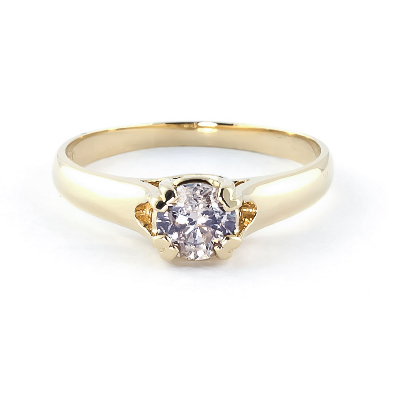 Diamond Solitaire Ring in 18ct Gold