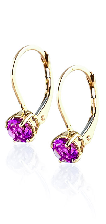 Pink Topaz Boston Drop Earrings 1.3ctw in 9ct Gold