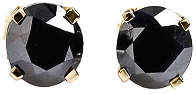 Cubic Zirconia Stud Earrings 4.75ctw in 9ct Gold