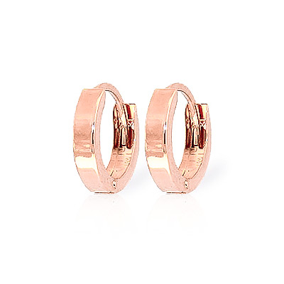 Huggie Earrings in 9ct Rose Gold