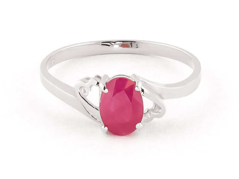 Ruby Classic Desire Ring 1.15 ct in 18ct White Gold