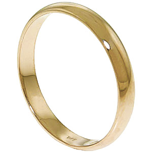 Wedding Ring in 18ct Gold