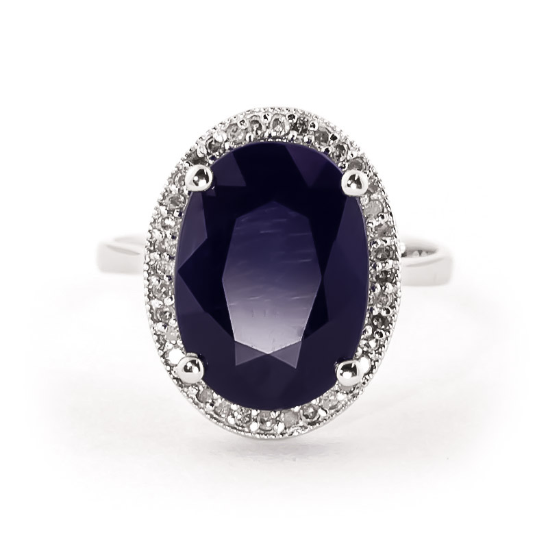 14k white gold 6 40ct sapphire ring 4896w qp jewellers