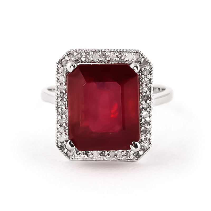 14k white gold 7 25ct ruby ring 4894w qp jewellers