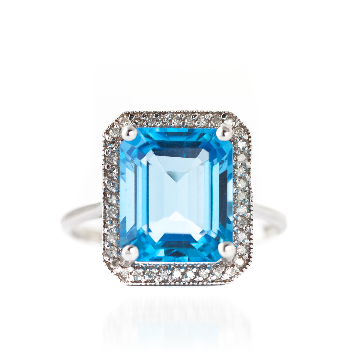 14k white gold 7 60ct blue topaz ring 4875w qp jewellers