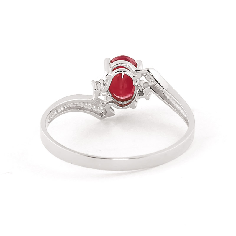 ruby ring and ruby ring white gold