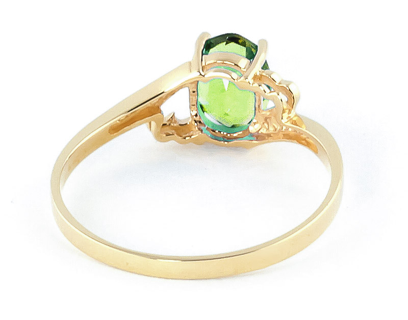 Peridot Classic Desire Ring 0.75ct in 9ct Gold