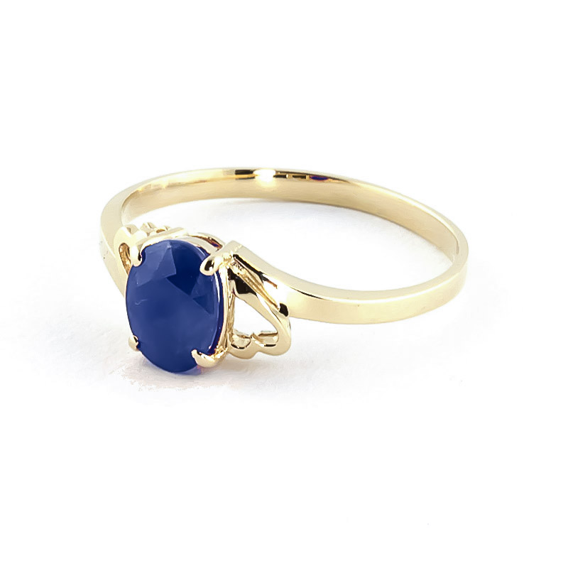 Sapphire Classic Desire Ring 1.0ct in 9ct Gold