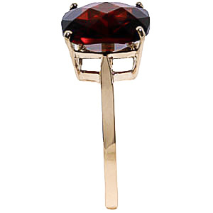 Garnet Rococo Ring 4.5ct in 9ct Gold