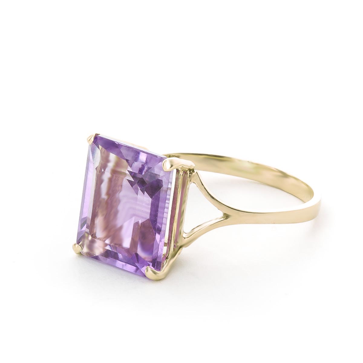 Amethyst Ring 6.5ct in 9ct Gold
