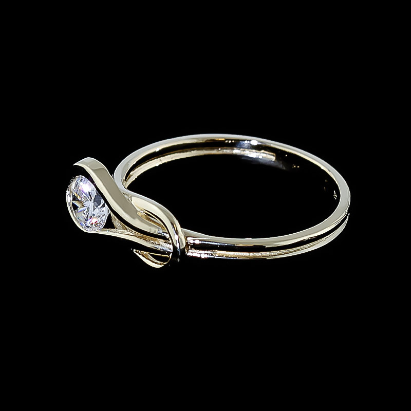 Diamond Ring in 14K Gold