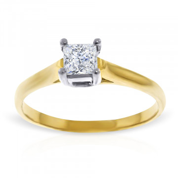 Diamond Solitaire Ring 0.5 ct in 9ct Gold