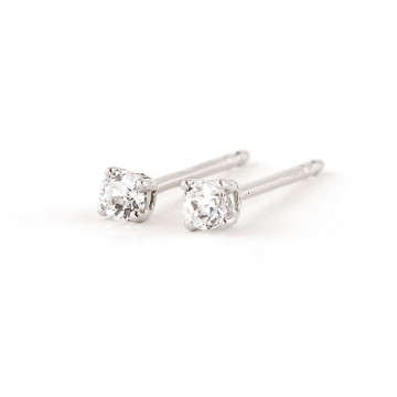 Diamond Stud Earrings 0.2 ctw in 9ct White Gold