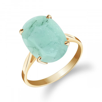 Emerald Valiant Ring 6.5 ct in 9ct Gold