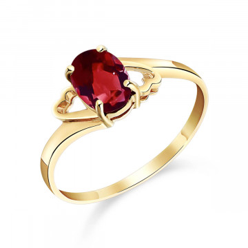 Garnet Classic Desire Ring 0.9 ct in 9ct Gold