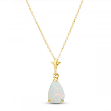Opal Belle Pendant Necklace 0.77 ct in 9ct Gold