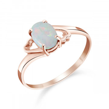 Opal Classic Desire Ring 0.45 ct in 9ct Rose Gold