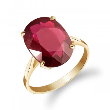 Ruby Valiant Ring 7.5 ct in 9ct Gold