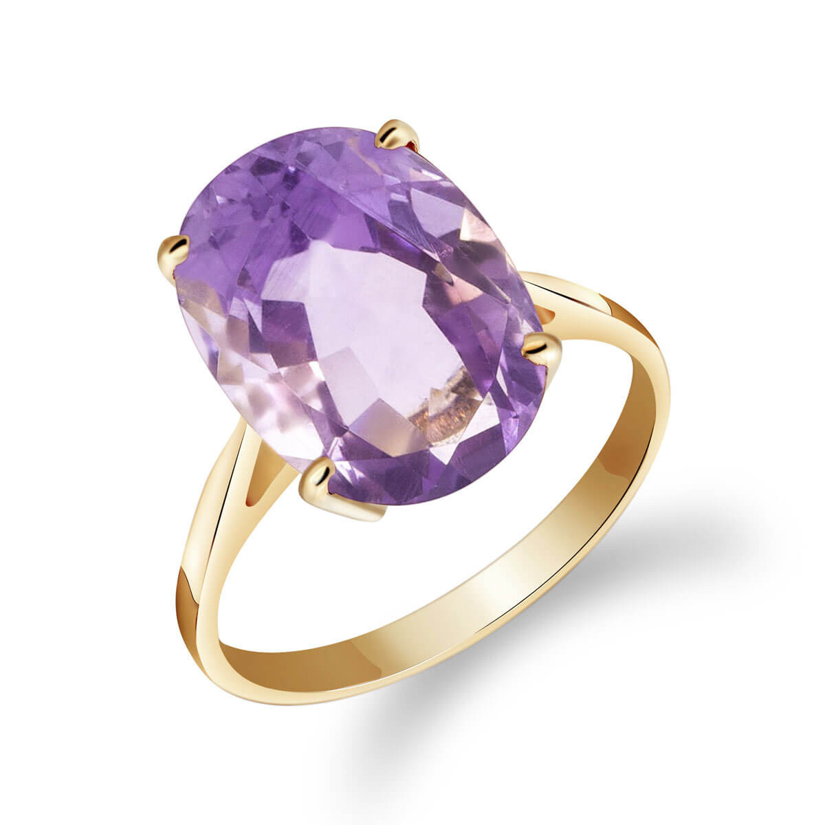 Amethyst Valiant Ring 7.55 ct in 9ct Gold