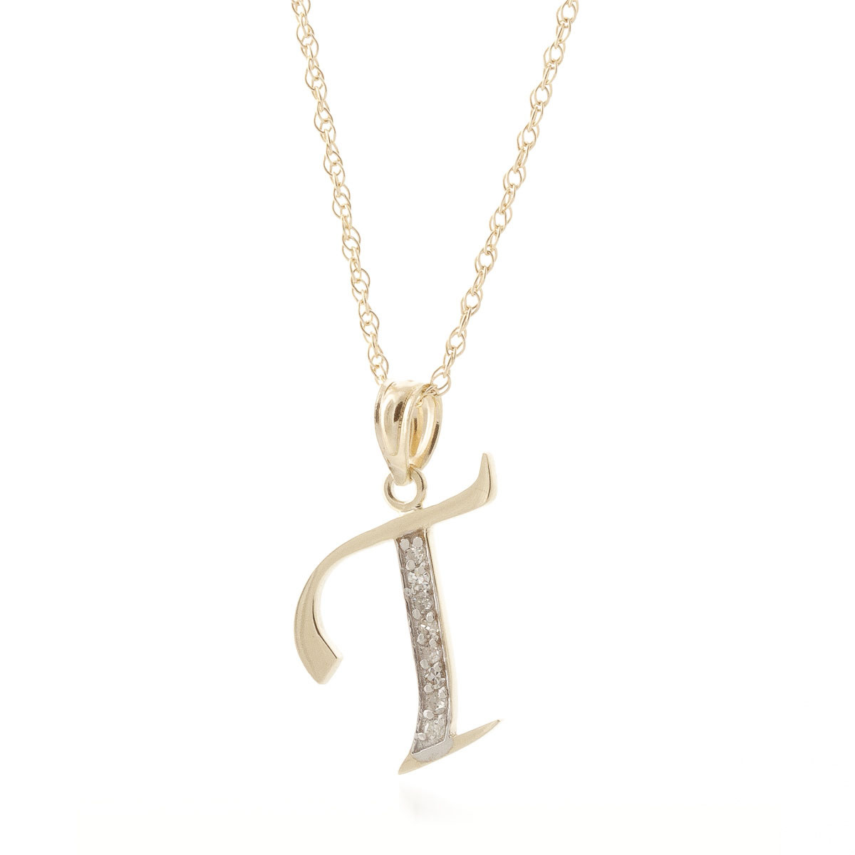 initial diamond simple pendant hi accent more letter in necklace and white main t views alphabet whwh gold classic