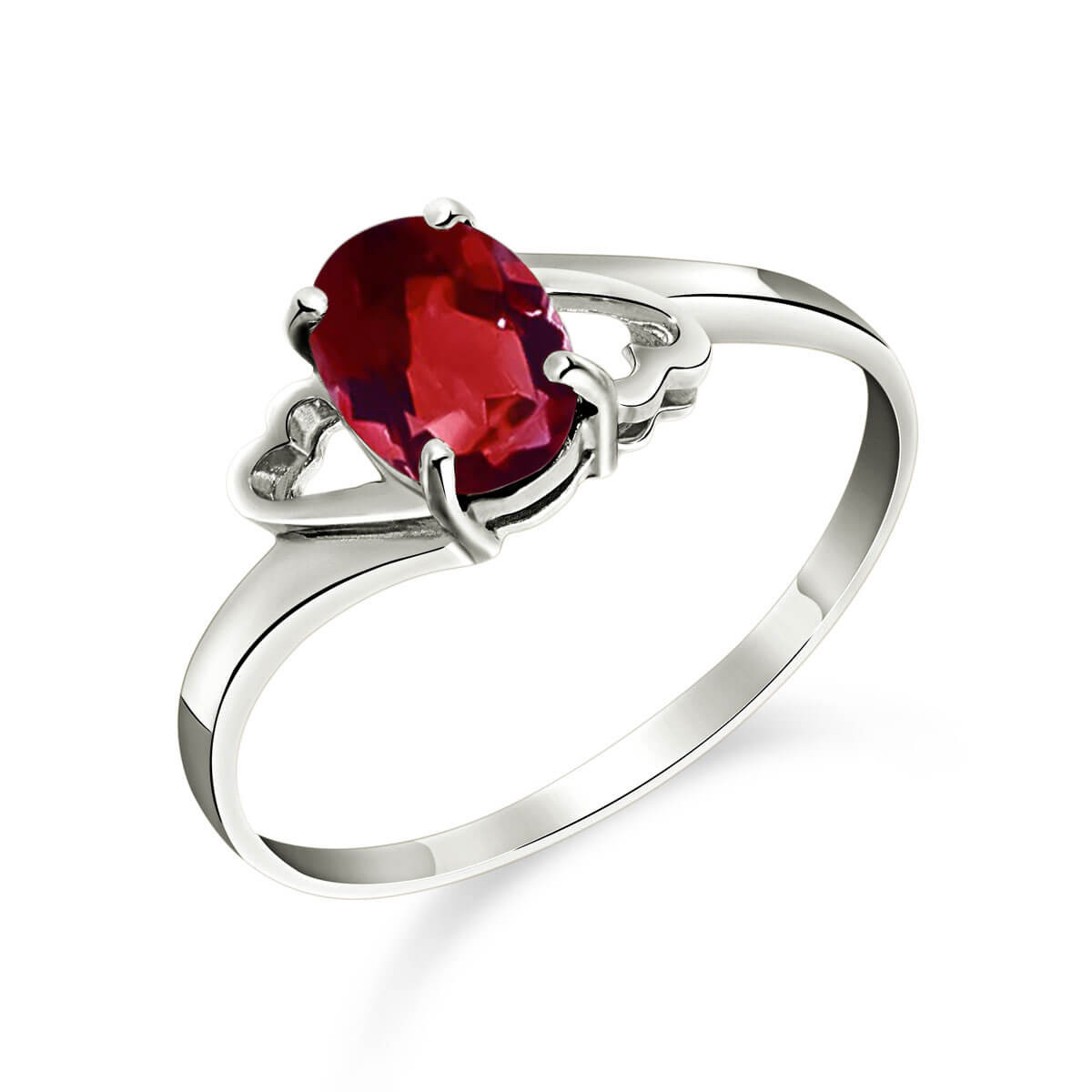 Garnet Classic Desire Ring 0.9 ct in Sterling Silver