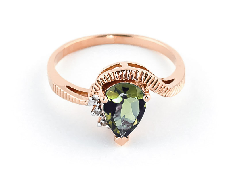 rings gold amethyst rose engagement diamond green ring media with leaf