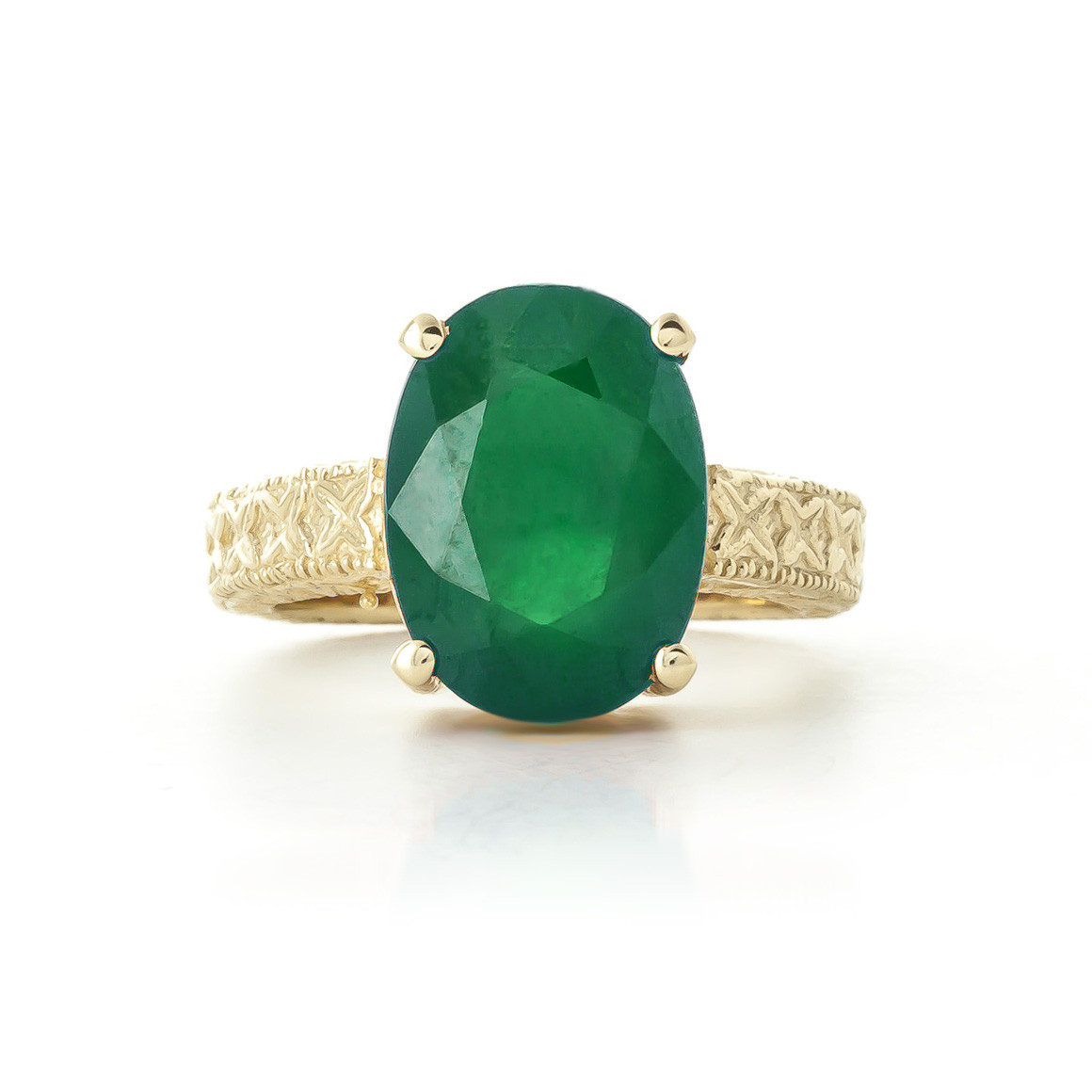 fit green ring in wg with bar jewelry gold baguette slim side emerald cut set stone nl white diamond engagement