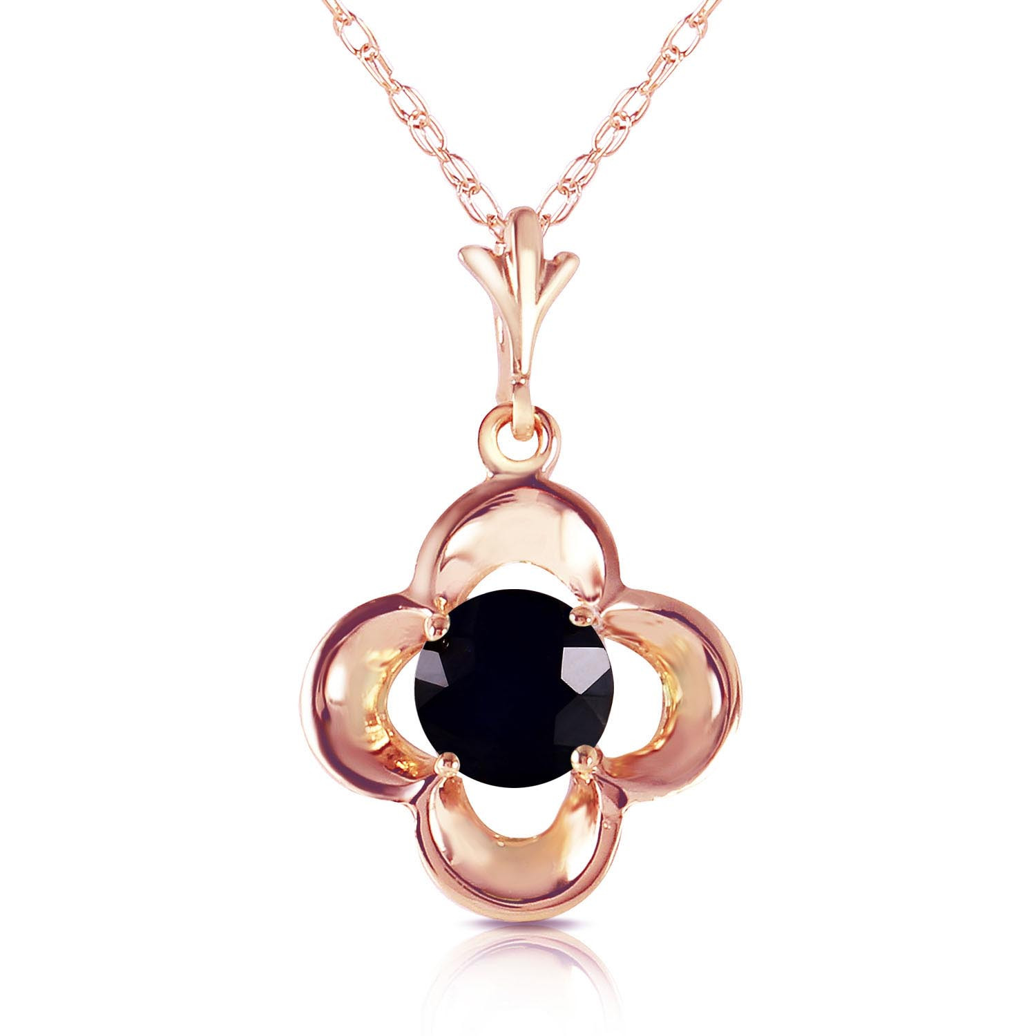 Round cut diamond pendant necklace 05 ct in 9ct rose gold 5178r round cut diamond pendant necklace 05 ct in 9ct rose gold aloadofball Gallery