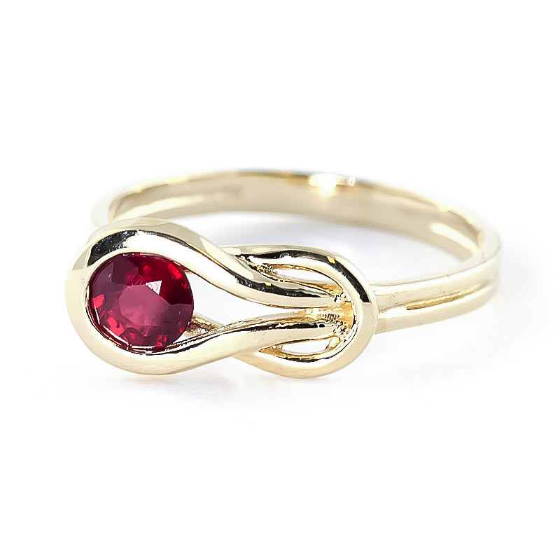 Ruby San Francisco Ring 0.65 ct in 9ct Gold