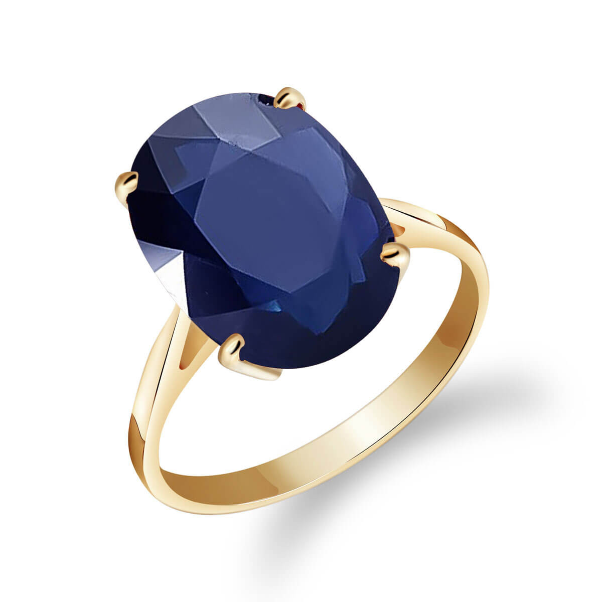 Sapphire Valiant Ring 8.5 ct in 9ct Gold