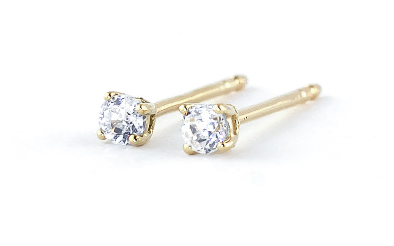 Diamond Stud Earrings 0.2 ctw in 9ct Gold