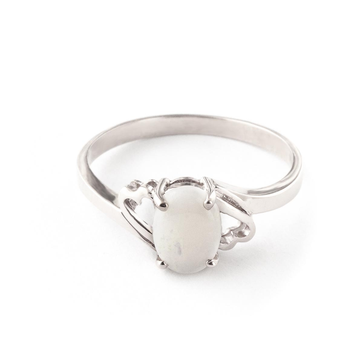 Opal Classic Desire Ring 0.45 ct in 18ct White Gold