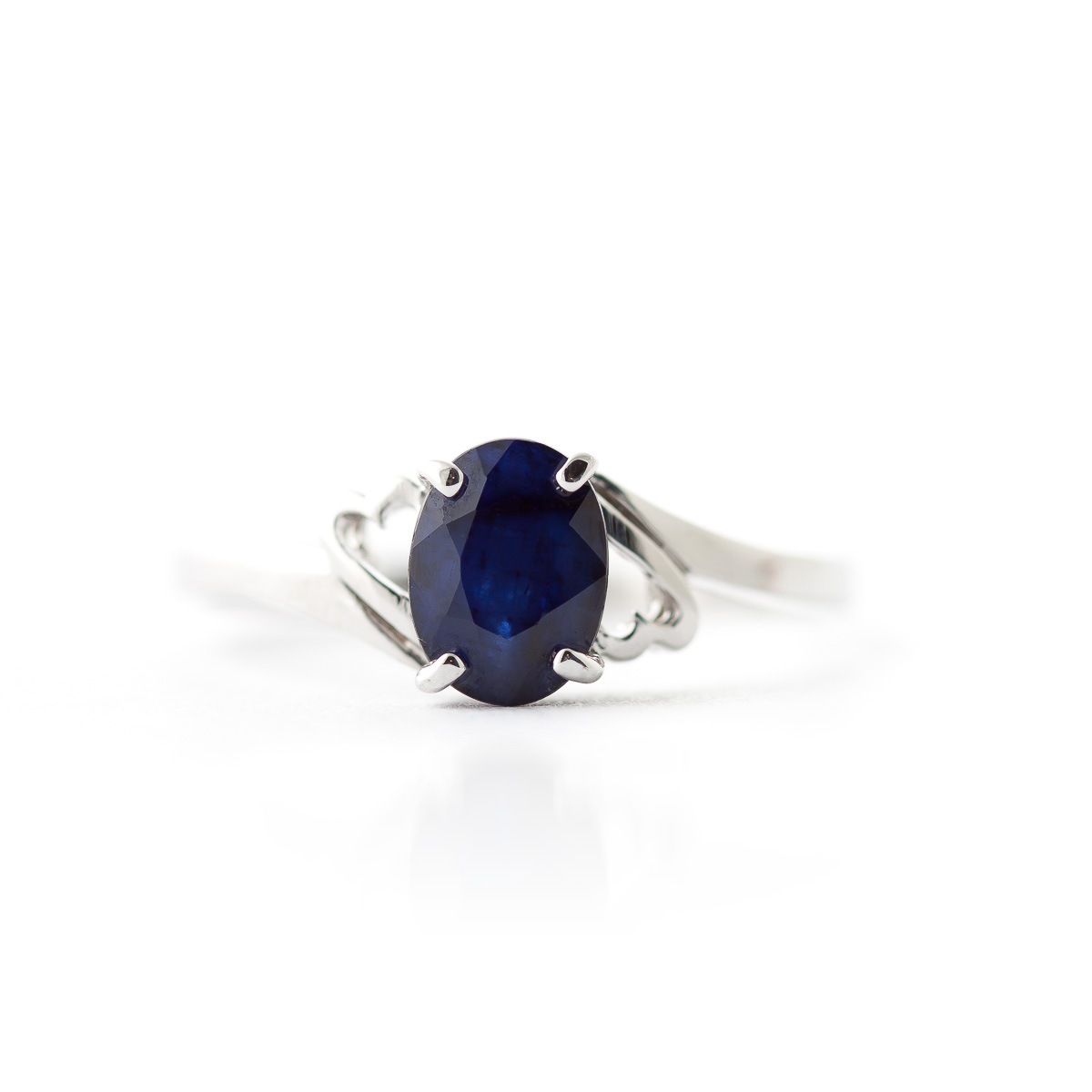 Sapphire Classic Desire Ring 1 ct in 9ct White Gold
