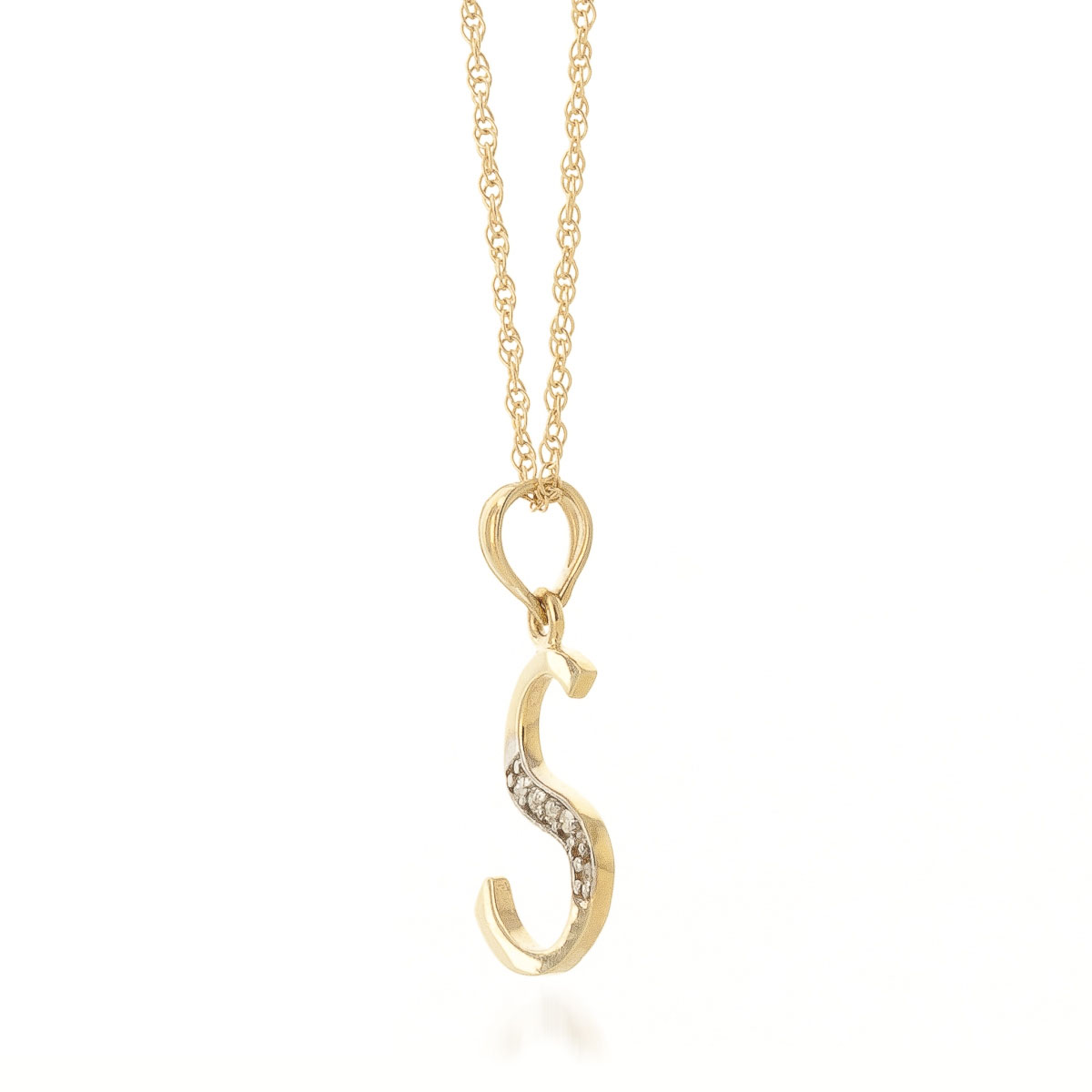 gold letter necklace necklaces kingice s initial pendant products
