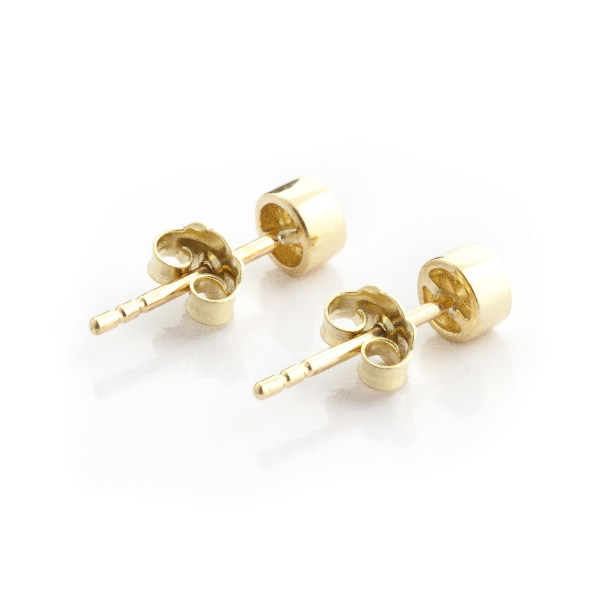 Diamond Stud Earrings 0.03 ctw in 9ct Gold