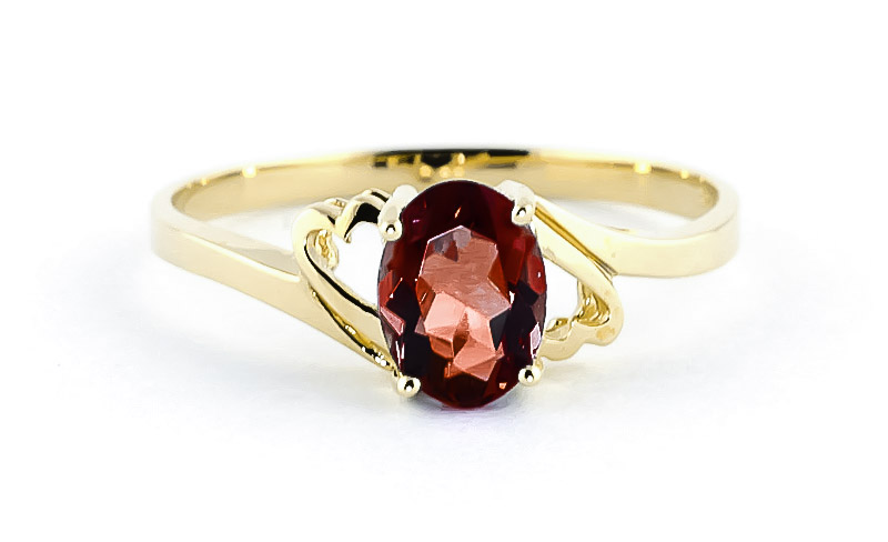 Garnet Classic Desire Ring 0.9ct in 9ct Gold
