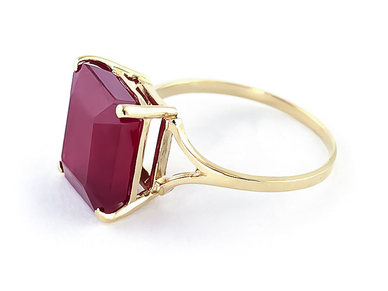 Ruby Ring 6.5ct in 9ct Gold