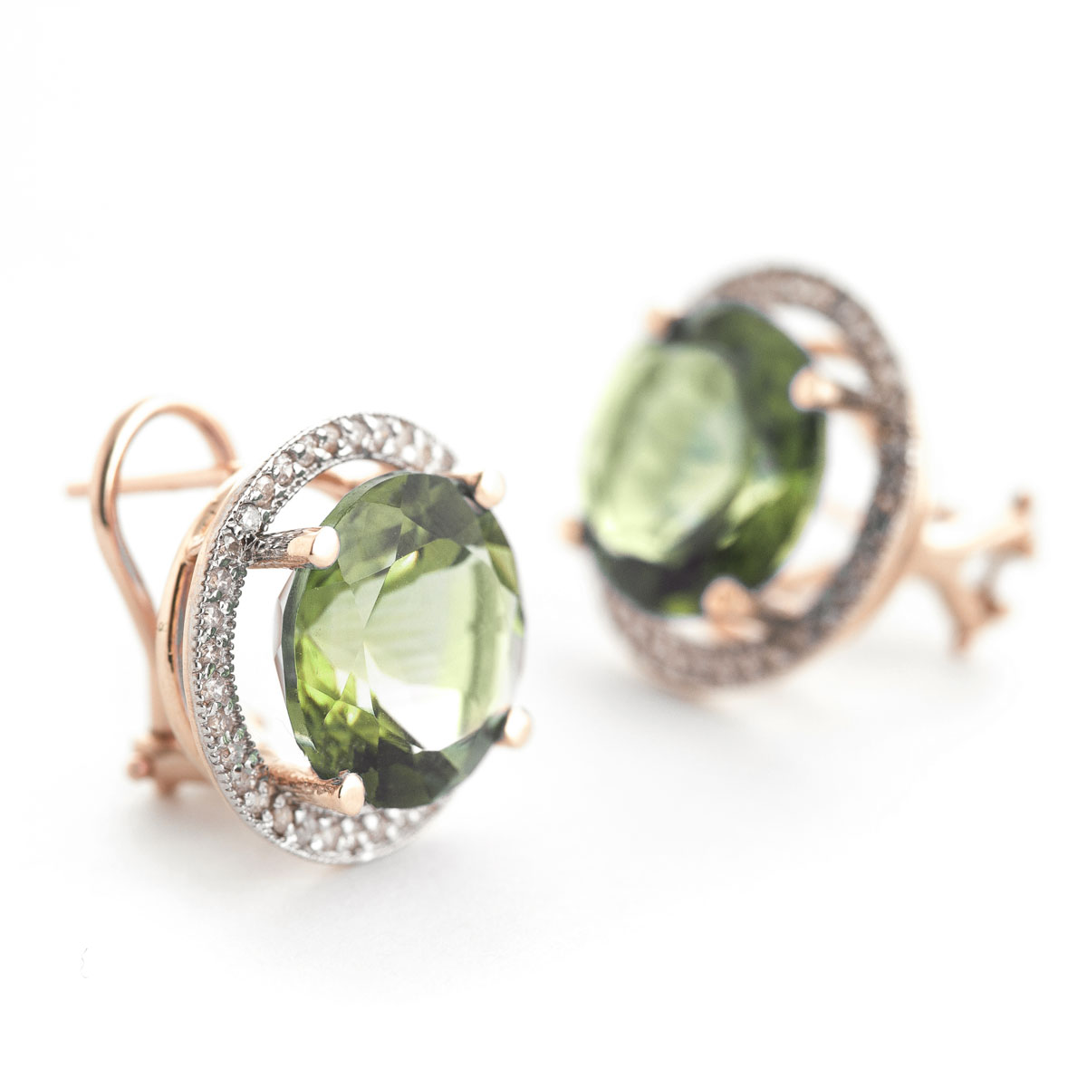 product kiki earrings drop pear jewellery green amethyst mcdonough