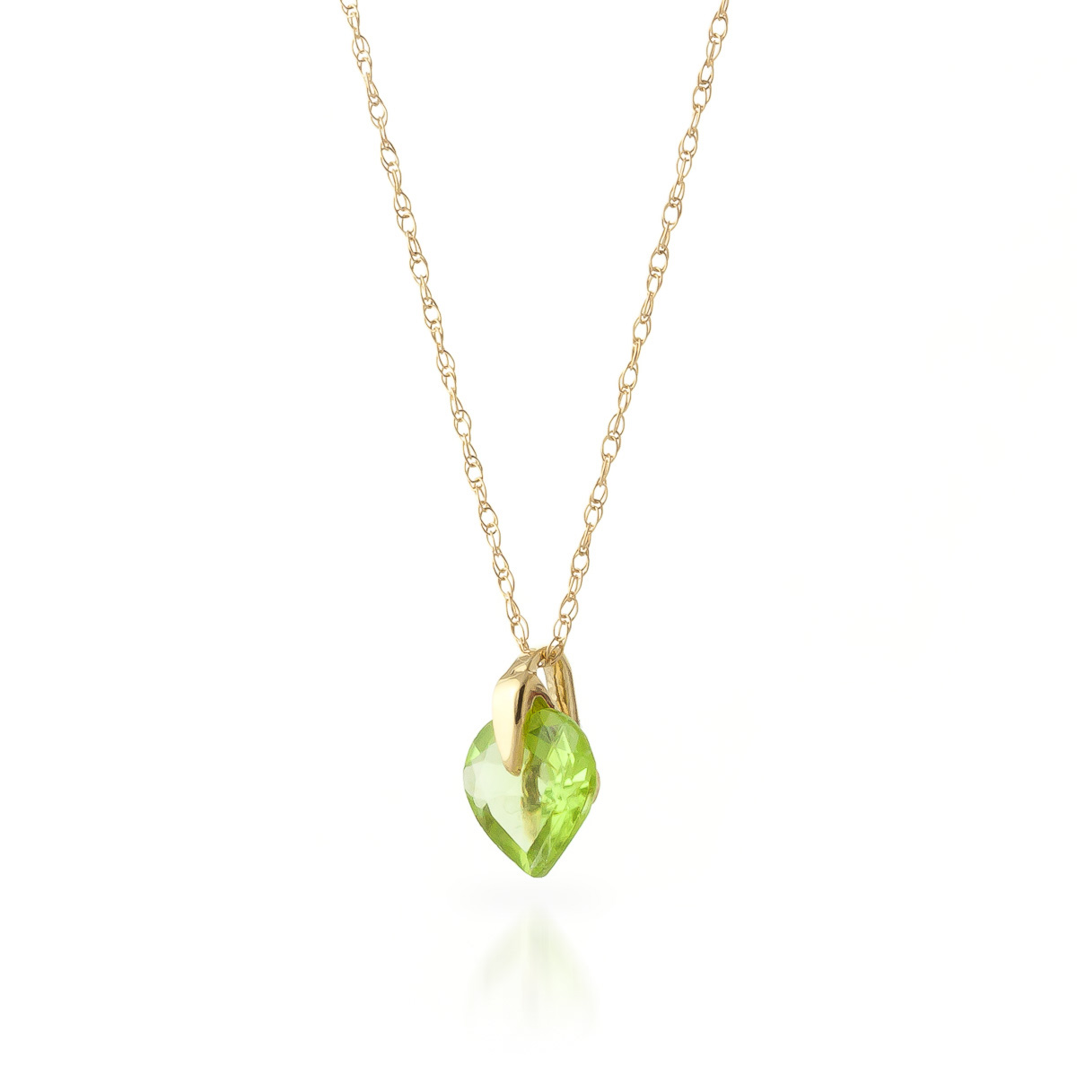 p necklaces peridot in yellow bezel solitaire set necklace to round zoom thumbnail gold tap