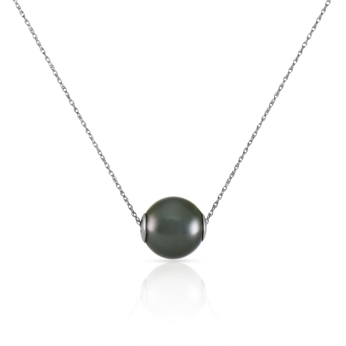 shopping with claw maria necklace nilsdotter fine black uk silver pearl pendant