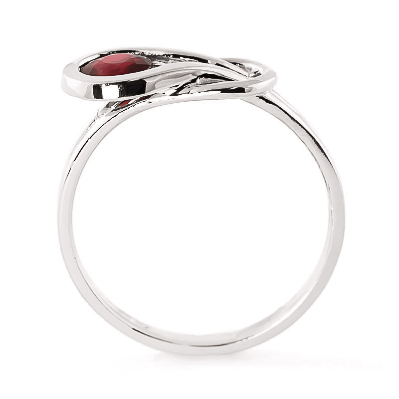 Ruby San Francisco Ring 0.65 ct in Sterling Silver