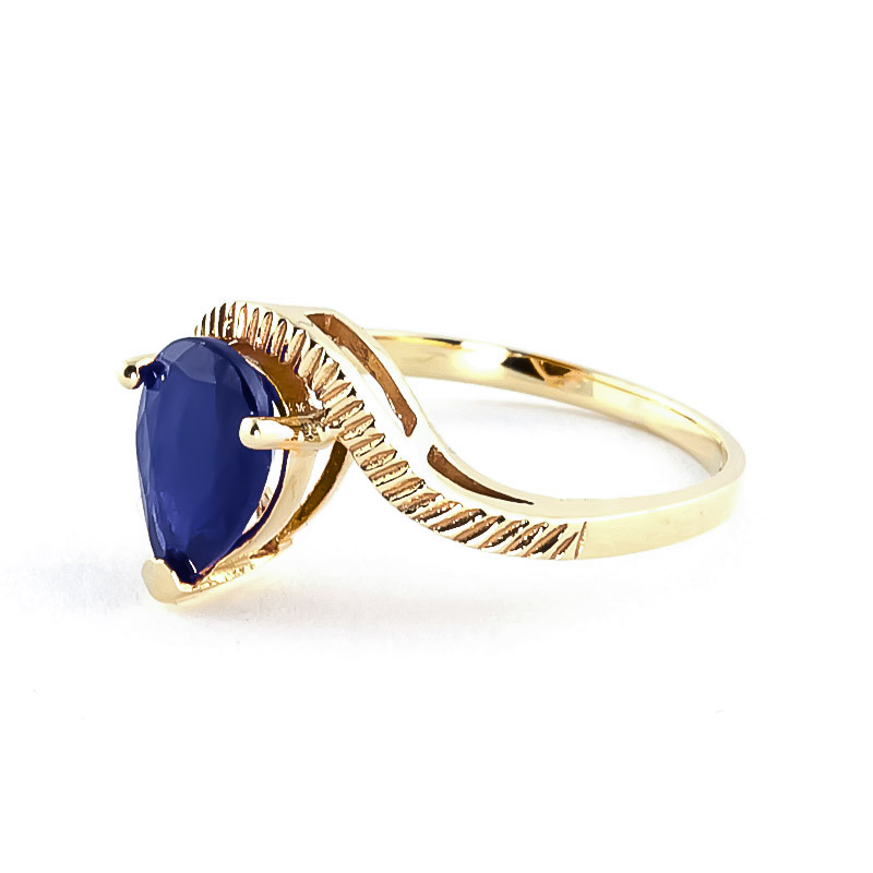 Sapphire & Diamond Belle Ring in 9ct Gold
