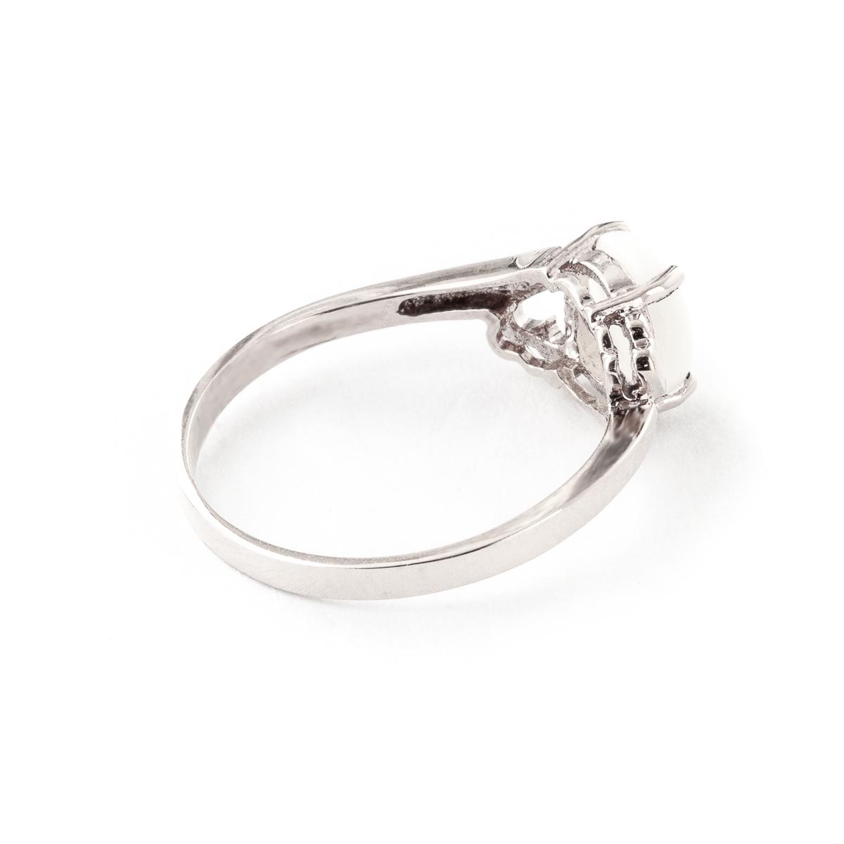Opal Classic Desire Ring 0.45ct in 9ct White Gold