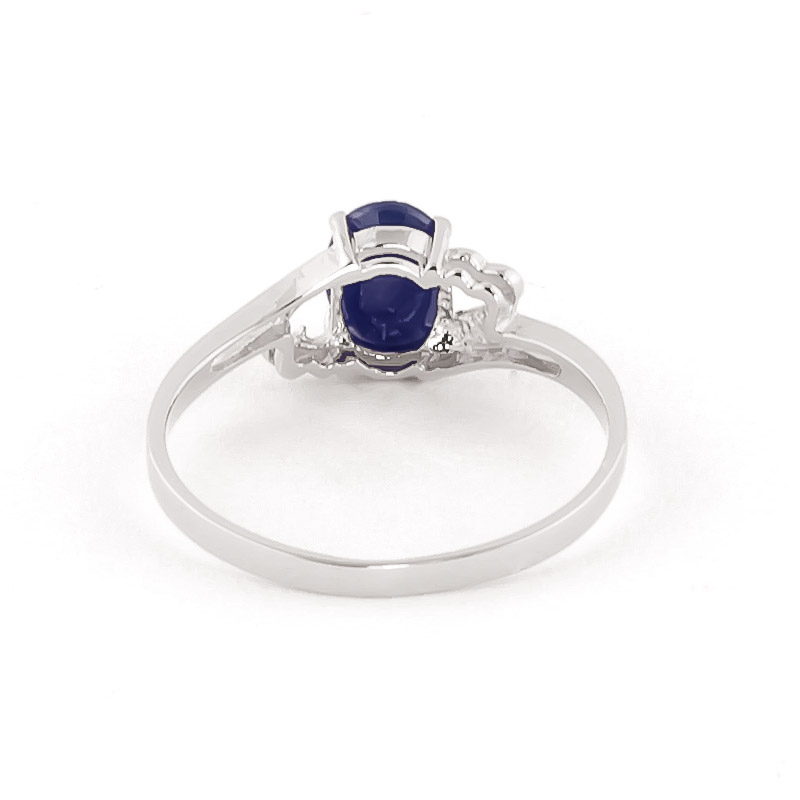 Sapphire Classic Desire Ring 1.0ct in 9ct White Gold