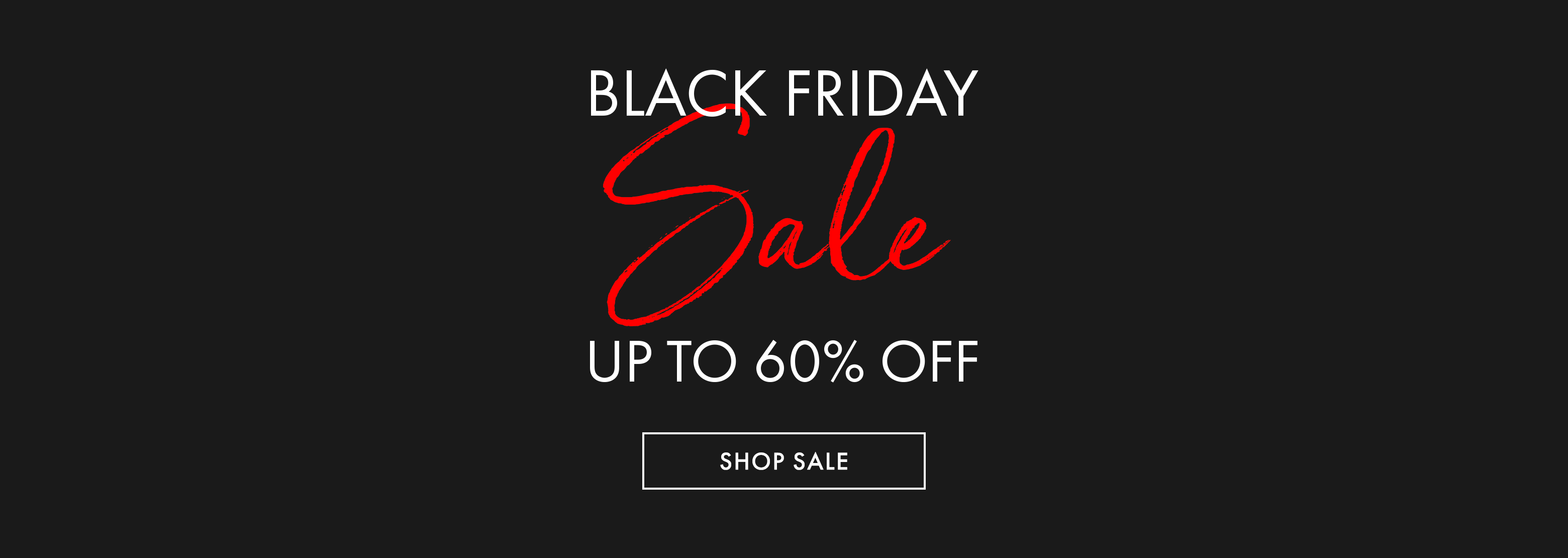 Black Friday Sale - Up to 60% off