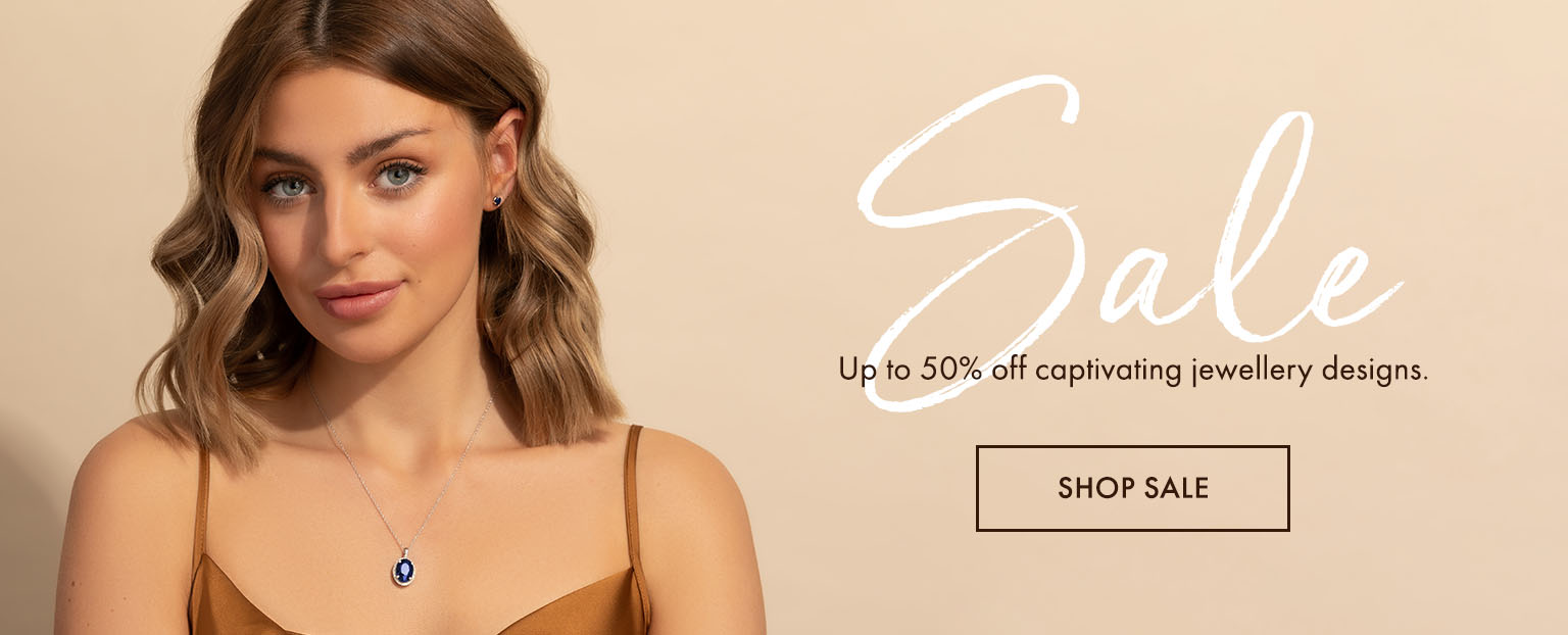 Sale - Up to 50% off captivating jewellery designs