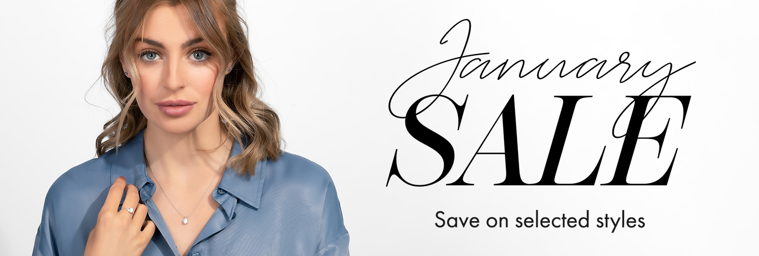January Sale: Save on Selected Styles